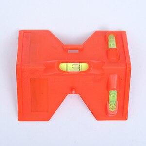 Image 2 - Cilindro dobrável, nível magnético de alta precisão, tubo de alta precisão, mini nível de bolha, para tubo, instalação de pilares de madeira