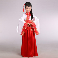 New style childrens Hanfu girls costume princess clothes photo studio costumes