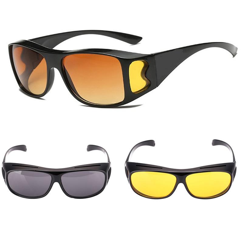 Goggles Sunglasses Night-Vision-Driver Polarized Eyewear Uv-Protection Unisex
