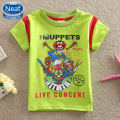 Neat new 2016 baby boy clothes short sleeve T-shirt boys wear kids clothes character children clothing Novelty T Shirt  K1077