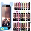 Poder universal bumper telefone para highscreen cinco/zera u/alcatel pop 4/poder archos 50 soft gel de silicone caso de telefone grande tamanho
