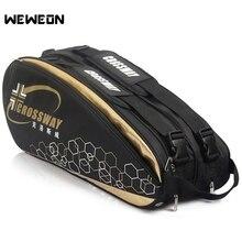 9 шт. профессиональная спортивная сумка для ракетки большая теннисная сумка рюкзак для ракеток 2019 сумка для бадминтона/Аксессуары для обуви Stroage