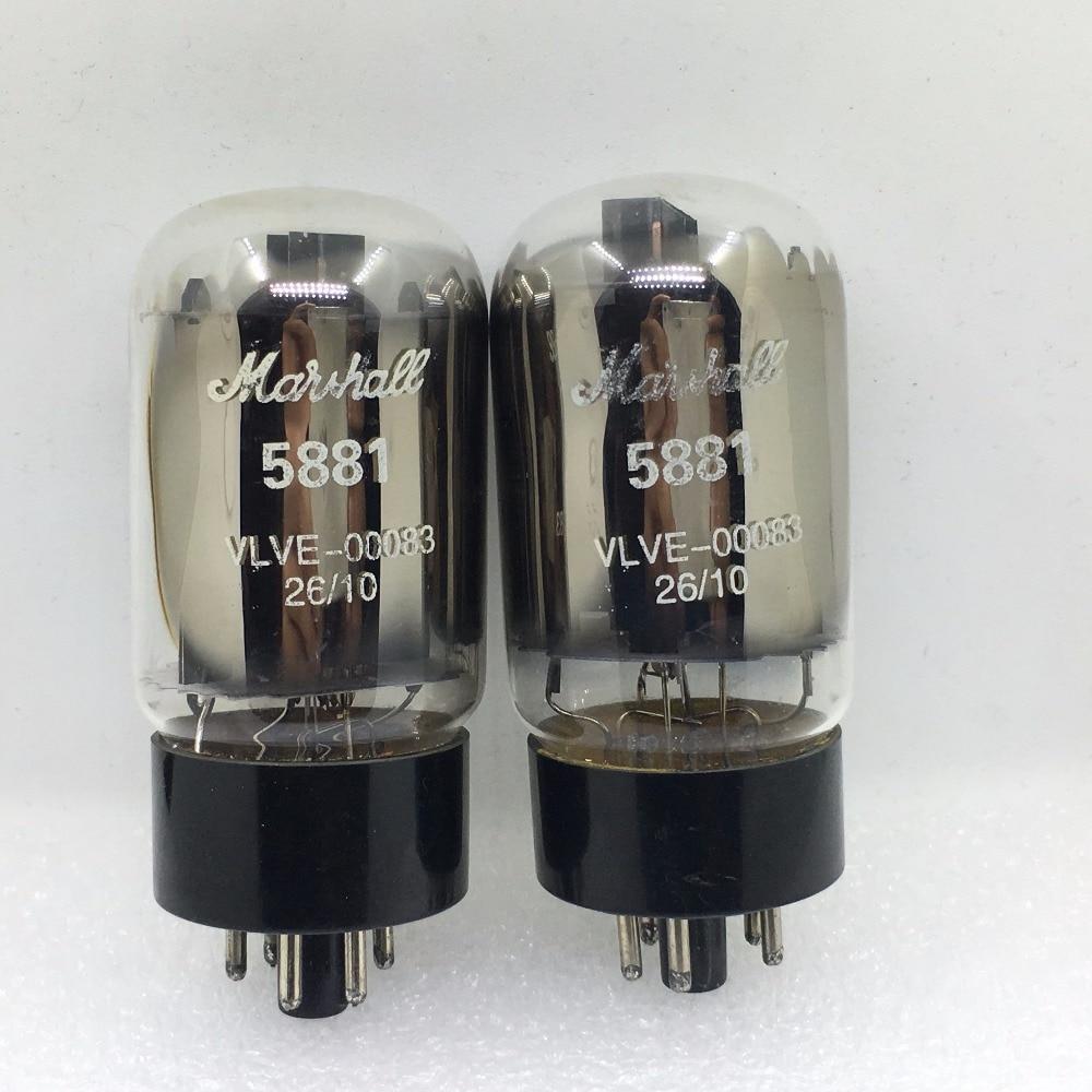 2PCS/LOT Marshall tube 5881 6L6WGC upgrade 6CA7 6P3P EL34 6L6GC KT88 DIY HIFI цена и фото