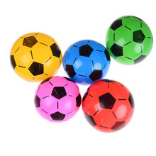 Niños juegos al aire libre playa deporte bola juguetes inflables juguetes  de fútbol 20 cm pelotas 83a07a0b09809