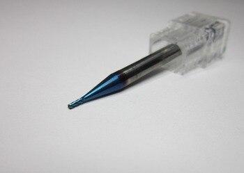5PCS  HRC68  1MM  4  flutes Tungsten Carbide End Mill / milling cutter  Tungsten Flat   L50mm KHR  carbide  CNC machine tools