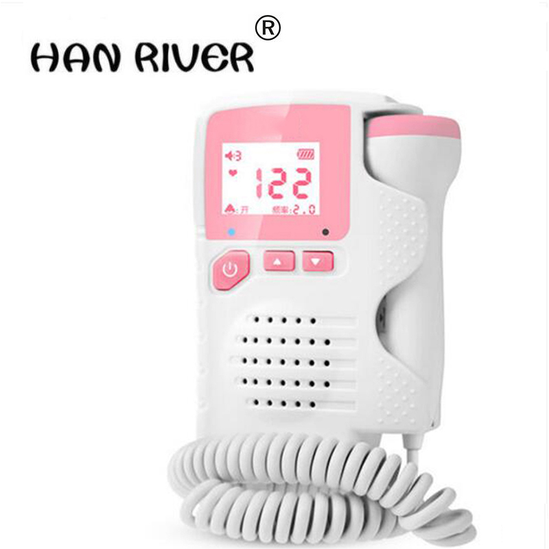 No radiation Doppler household test fetal fetal movement monitoring pregnant women listening to fetal monitor monitor stethoscop ultrasound fetal movement monitoring pregnancy monitor doppler home pregnant women heart rate language instrument no radiation