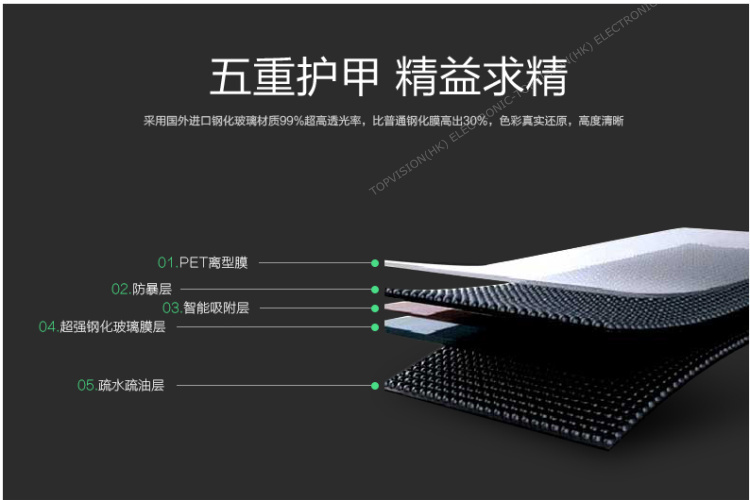 2.5D hd təmiz 0.3MM 9H alma ipad mini 4 qoruyucu film qoruyucusu - Planşet aksesuarları - Fotoqrafiya 3