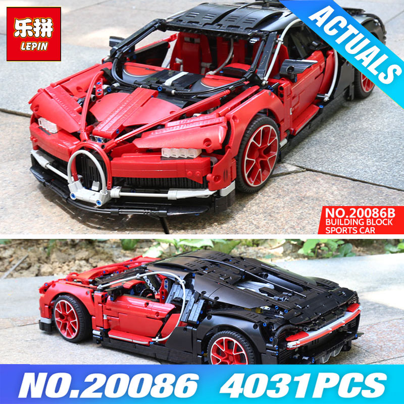 Lepin 20086B Technic Toys Compatible with 42083 Red Racing Car Set Model Building Blocks Bricks Car Toys for Kids Christmas Gift pop king steerer transport cruiser suv technic truck model building blocks racing car bricks toys for children compatible lepin