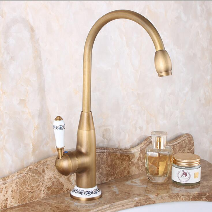 Free Shipping New Style Antique Brass Finish Faucet