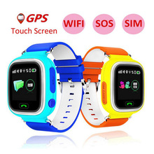Smart Watch for Children Q90 GPS Smart Watch Baby Anti-lost Watch With Wifi Q90 Touch Screen SOS Call Smartwatch Baby PK Q50 Q80 стоимость