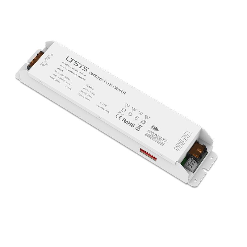 LTECH Led DMX dimming Driver DMX-150-12-F1M1;150W DMX LED driver;AC100-240V input 12V 12.5A 150W output DMX Led Dimming Driver туфли на высоком каблуке 34 43 2015 111
