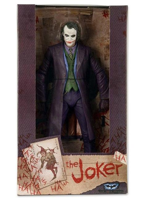 """For Collection 7"""" NECA Batman The Dark Knight The Joker Heath Ledger PVC Figure Toys Model for Children Boys Gift"""
