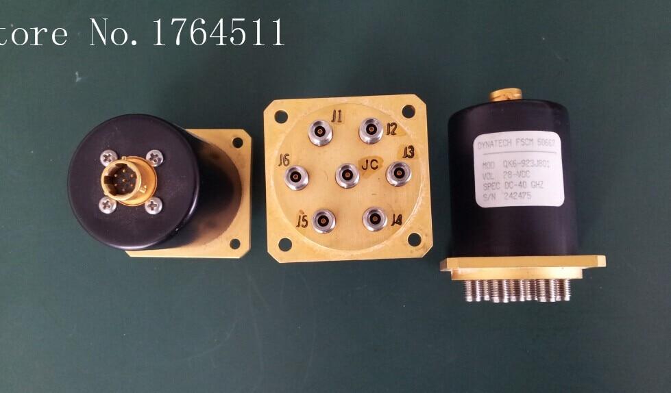 [BELLA] QK6-923J801 DC-40GHZ High Frequency Single Pole Six Throw RF - 28V 2.92mm