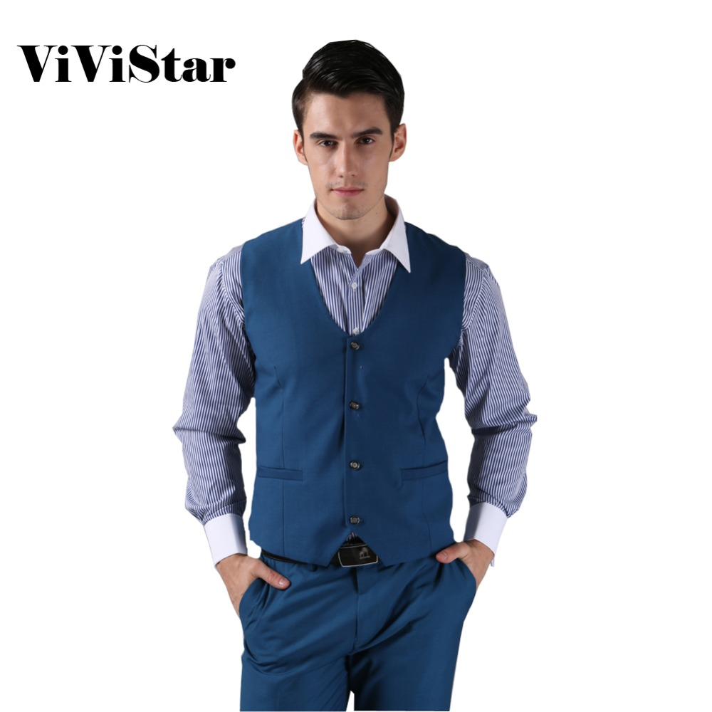 2014 New Men Suit Vest Fashion Casual Wedding Formal Business Suits ...