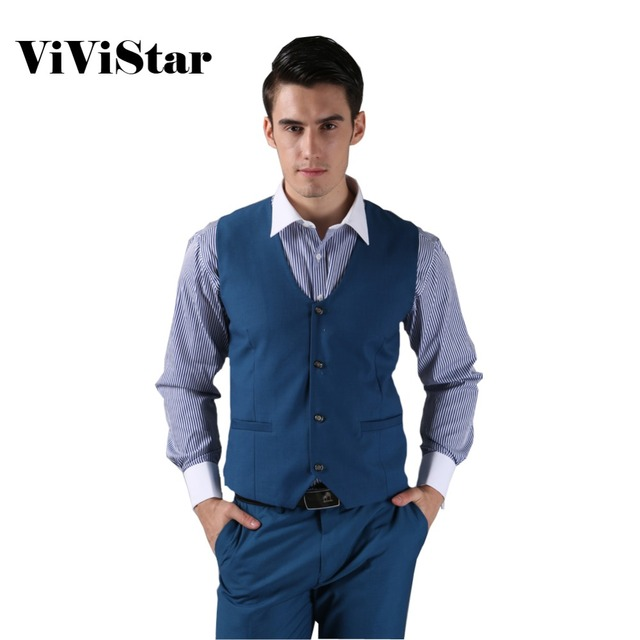 2014 nuevos hombres traje chaleco moda Casual boda Formal Business Suits Blazer traje chaleco H0283