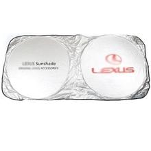 Beste qualität UV Schutz Auto für Lexus 150*70cm Vorne Hinten Fenster Folie Film Windschutzscheibe Visier Abdeckung Auto sonnenschirm Zubehör