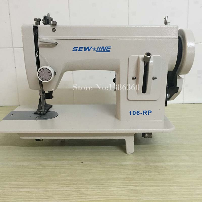 Leather sewing machine desktop sew thick synchrodrive sewing machine leather canvas thick sewing machine CP114 in Tool Parts from Tools