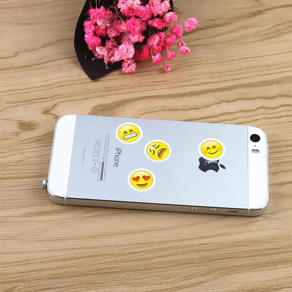 5 Buah Lucu Ponsel Stiker Chat Menampilkan Catatan Menghias Stiker Pegatinas Etiqueta Engomada untuk Apple iPhone 5 5 S 6 6 S PLUS