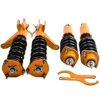Full Coilover Suspensions kit Shock Absorber For Honda Civic EM2 2001 2005 Spring Struts