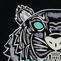 2017 НОВАЯ мода мужчины женщины тигр футболка вышивка футболка с коротким Рукавом Хлопок много цветов S-XXL