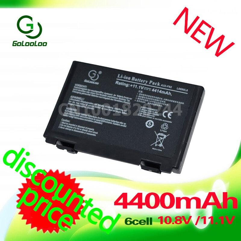 Golooloo bärbar dator för Asus A32-F82 A32-F52 F52 k40in K50 K50iJ - Laptop-tillbehör - Foto 2