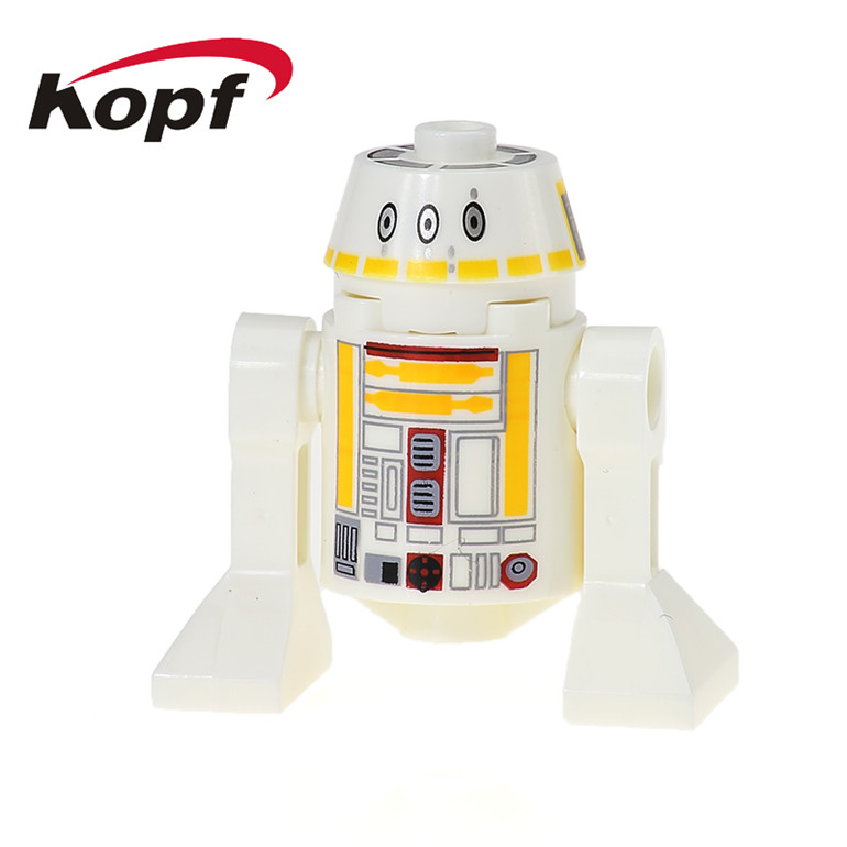 50Pcs XH 530 Super Heroes RSF7 Star Wars Smart Robot R490 RSD8 Classic R2D2 BB8 Dolls Building Blocks DIY For Children Gift Toys