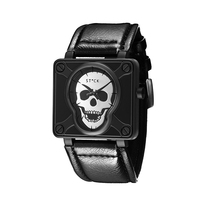 2017 Luxury Top Level Luxury Brand Skull Head Pirate Men S Watch Quartz Watch Sports Wrist