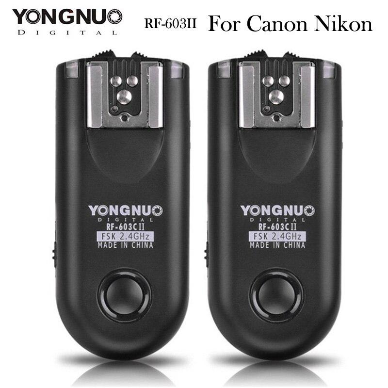 Yongnuo Rf 603 Ii Radio Wireless Remote Shutter Release