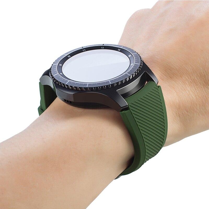 Shpërndarje falas Rrip shiritash byzylyk silikoni për Samsung Gear - Aksesorë për orë - Foto 5