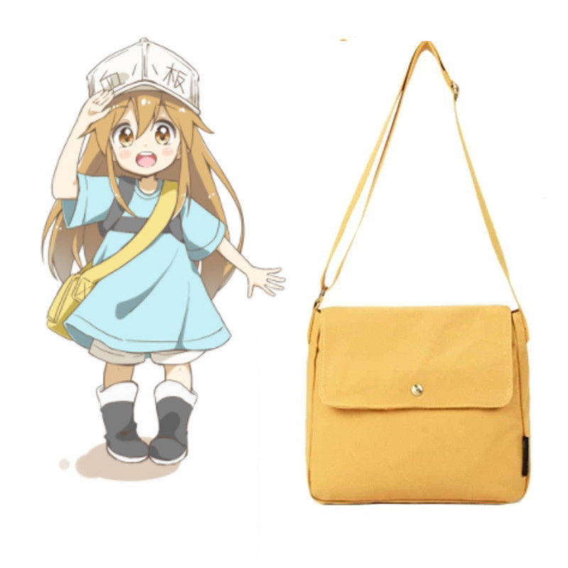 Anime Cells At Work Platelet Cosplay Bag Hataraku Saibou Costume Cosply Props Women Halloween Party Coaplay Accessorices