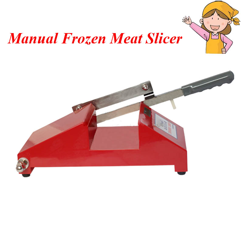 Mini Frozen Meat Processor Household Mutton, Beef Fat, Slicer in Hot Sale Color Red михаил окунь и с парой юных ведьмочек