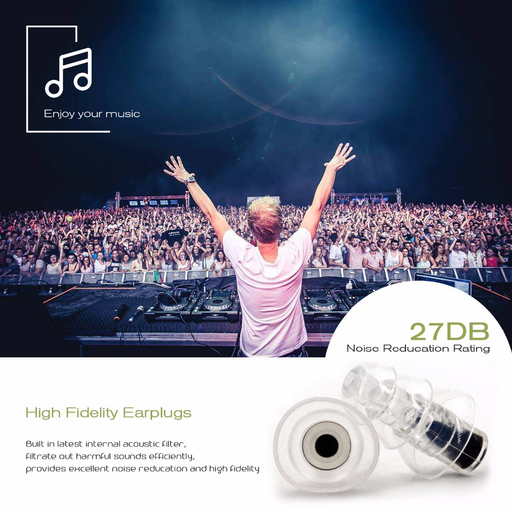 High Fidelity Earplugs