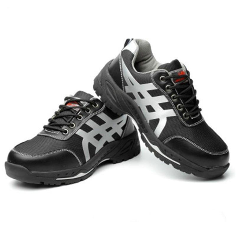 Labor shoes men's anti - smashing and anti-piercing steel toe shoes men wrok boots big size39-45 Yasilaiya