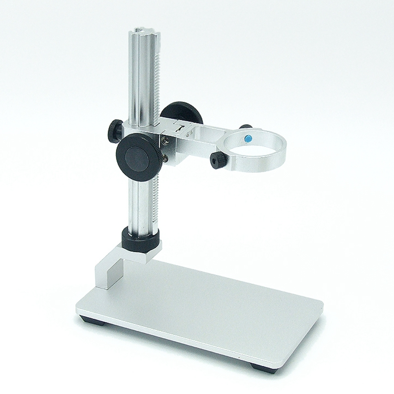 Universal Aluminum Table Stand Holder For Electronic Digital USB Microscope Inner Diameter 32-34mm Magnifier Al-alloy Stent Set