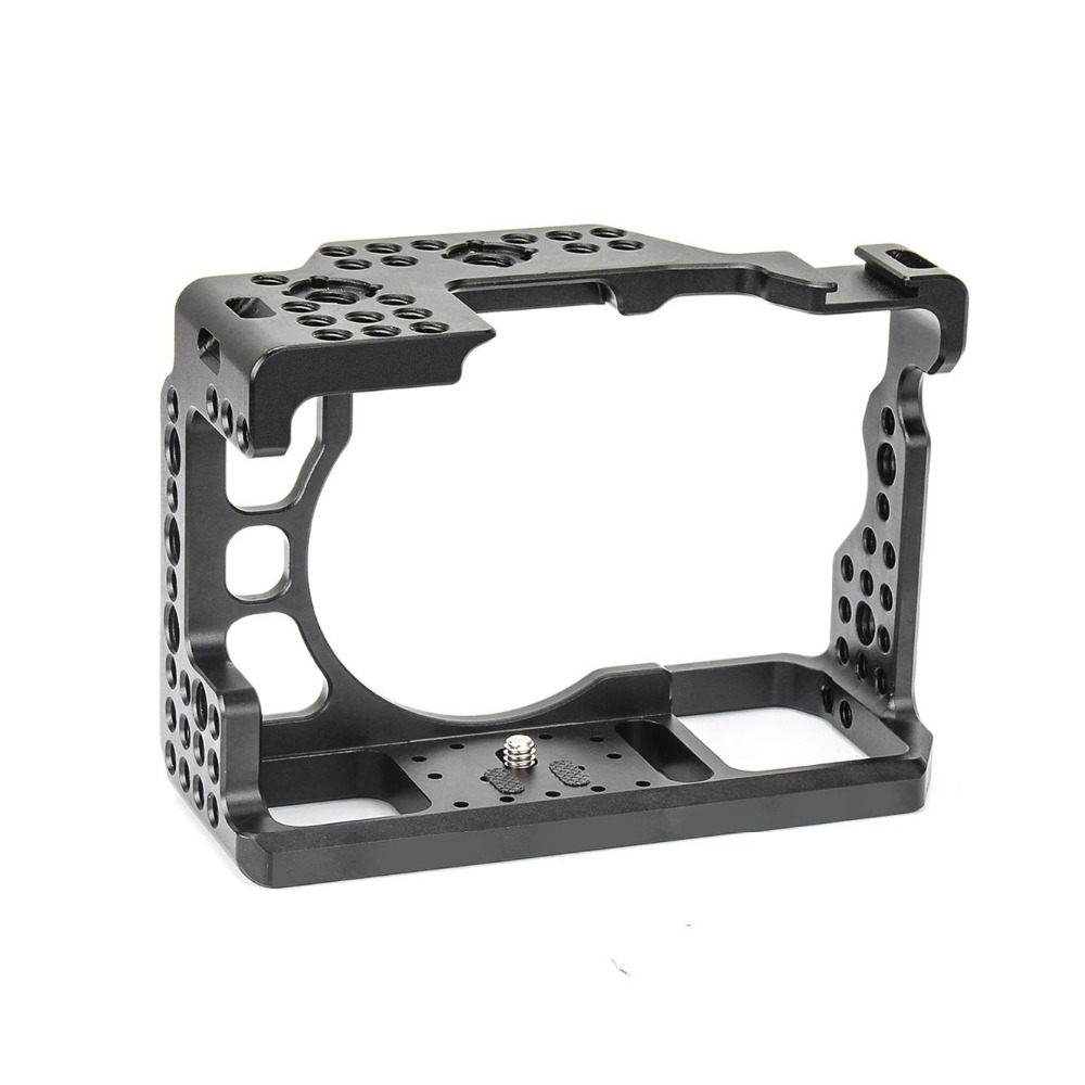 Camera Aluminum Alloy Cage for Sony DSLR A73 A7M3 A7R3 A7III Camera Protective Case with 4