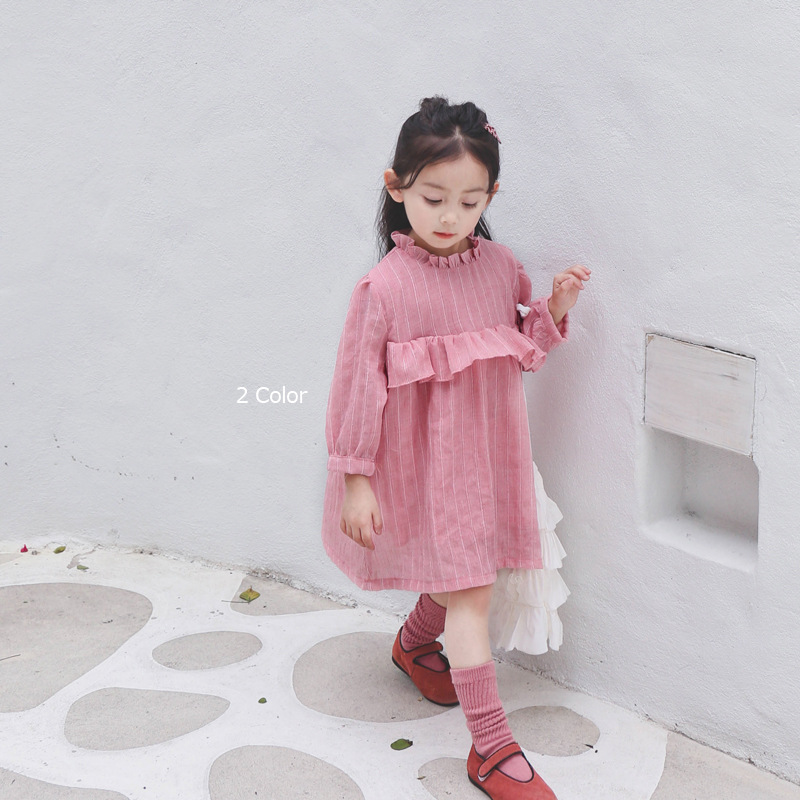 Celveroso 2019 Child Women Costume Lengthy Sleeve stable cotton Costume lady cute ruffled coll youngsters's clothes for ladies Children attire Clothes, Low-cost Clothes, Celveroso 2019 Child Women Costume Lengthy...