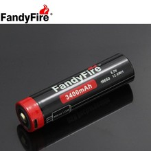 FandyFire Android Micro USB Charging Port 3400mAh Lithium Ion Rechargeable 18650 Battery DC-Charging batteries 3.7V Battery cell