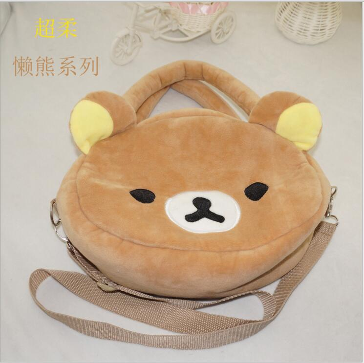 Luggage & Bags 10pcs/lot Rilakkuma Easily Bear Travelling Messenger Bag New Fashion Lovely Gift Top Watermelons Women's Bags