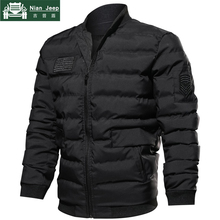 Brand 2018 Winter Jacket Men Stand Collar Ultralight Parka Men Militar