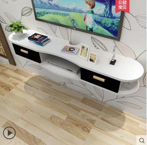 Image 4 - Kệ treo tường phòng khách phim điện ảnh và phim truyền hình nền tường sáng tạo lưới phòng tường mà không cần thủng tường treo tủ D