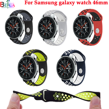 For Samsung 46mm Galaxy watchband Replacement Sport Silicone strap wrist Strap Bracelet Huami Amazfit sport smart watch 22mm