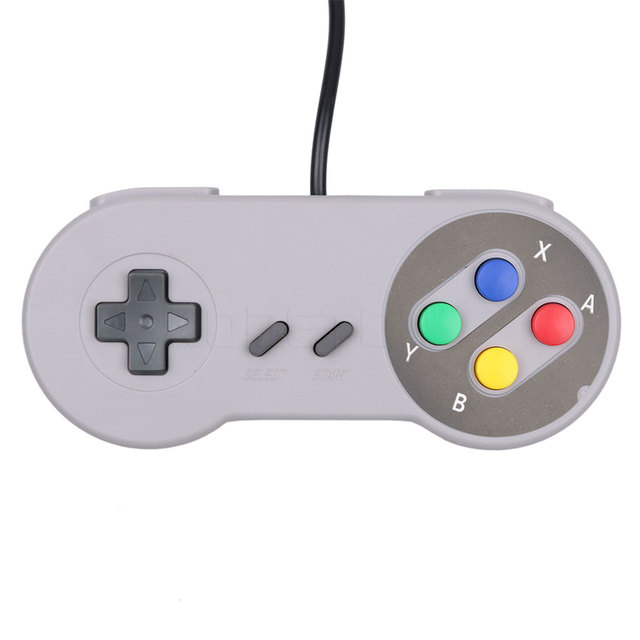 kebidu Retro Classic USB Controller PC Controllers Gamepad Joypad Joystick Replacement for Nintendo for PC for MAC
