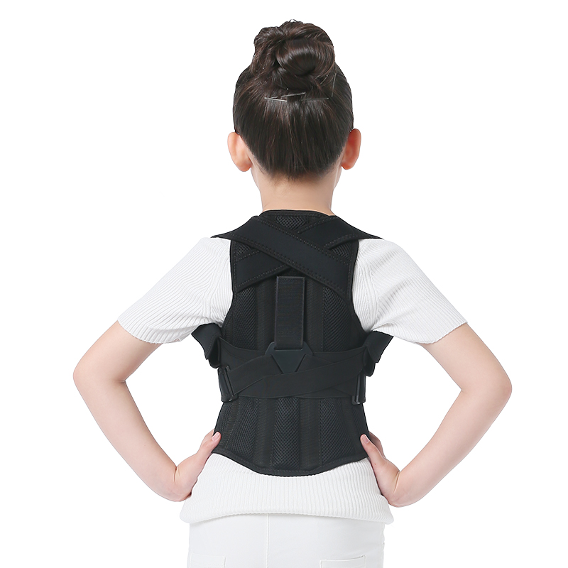 JORZILANO Profesional Child Adjustable Back Chest Support Belt Posture Corrector Shoulder Brace Tape Posture Correct Orthotics unisex adjustable posture corrector corst back men brace shoulder belt lumbar support straight correction for health care