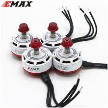 4 Stks/partij Emax RS2306 2400KV 2550KV 2750KV Motor Voor Fpv Racer Quadcopter Kvadrokopter Rc Drone Vliegtuigen Wit