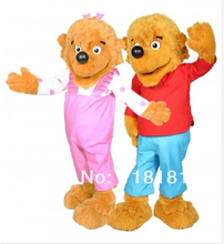 MASCOT Berenstain Bears kids mascot costume custom fancy costume cosplay kit theme mascotte carnival costume