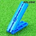 Cable de Bajada FTTH Fibra Azul KELUSHI Coating Stripper Fibra Barra Guía Carril-Guía De Corte para Cables De Fibra Al Por Mayor Precio