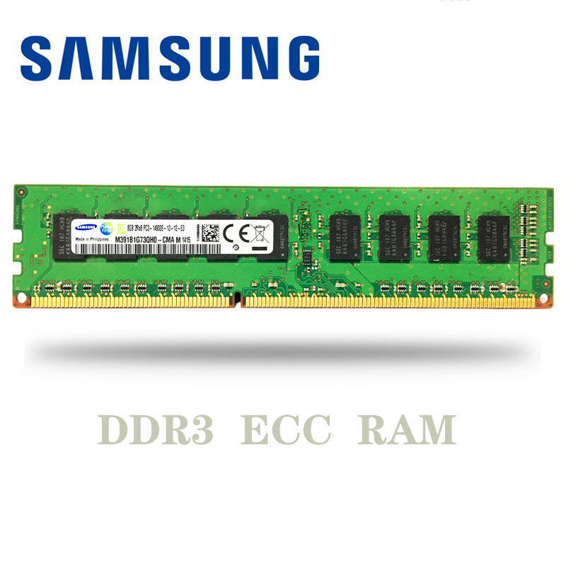 1 x 4GB PC3-14900E 1866MHz DDR3 ECC For Workstations or servers