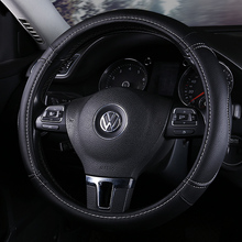 Sport Car Steering Wheel Cover Genuine Leather Auto Steeing-Wheel Covers of Cases Universal wheel covers Car Inter Accessories футболка wheel of steelo