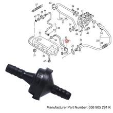 JEAZEA ENP4482 058905291K автомобильный вакуумный обратный клапан воздушный насос 1,8 для VW EOS Golf Jetta Passat Touran A4 A6 A3 S8 TT 1999 2006 2011