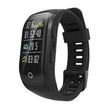 цены S908S GPS Tracking Watch IP68 Waterproof Multi-mode Sport Bracelet Heart Rate Monitor Smart Wristband Bluetooth Activity Tracker